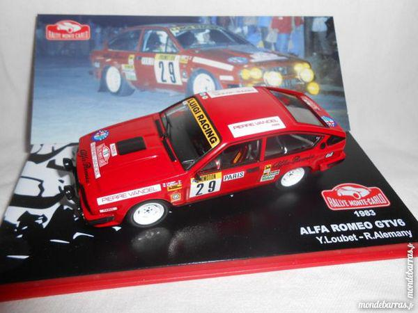 Alfa romeo gtv6 monte carlo 1983 1/43 neuf boite occasion,