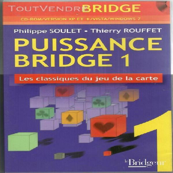 Bridge puissance bridge 1 soulet rouffet cd rom tbe jeu de