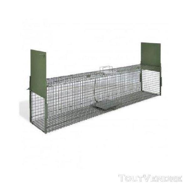 Cage piège pour animaux deux entrée anti rongeur