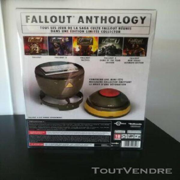 Coffret edition collector fallout anthology mini nuke pc fr