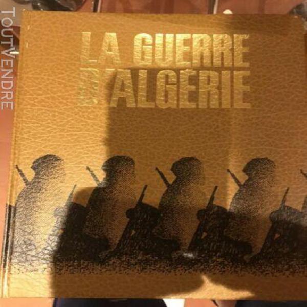 Collection livre 10 tomes dur la guerre d'algerie