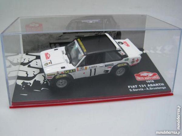 Fiat 131 abarth servia monte carlo 78 1/43 neuf occasion,