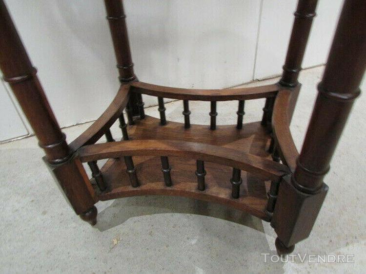 Guéridon ovale ancien,table d'appoint