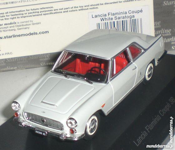 Lancia flaminia coupé 3b blanc 1/43 starline neuf occasion,