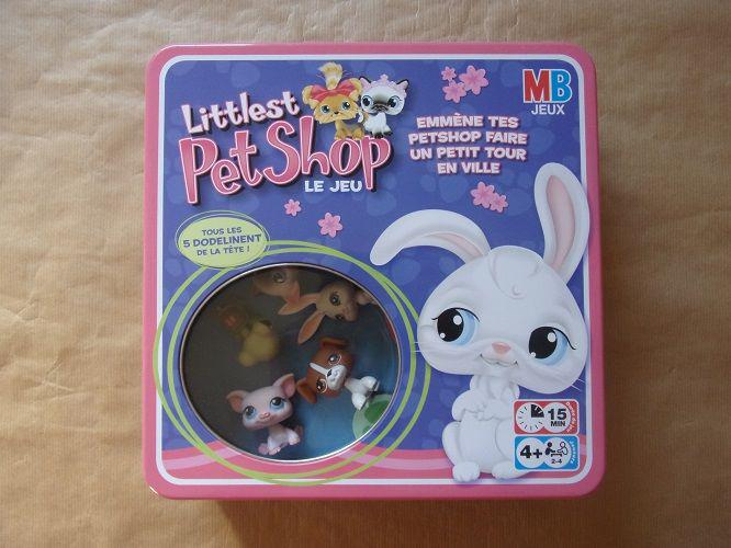 Le jeu littlest pet shop - boîte métal occasion,