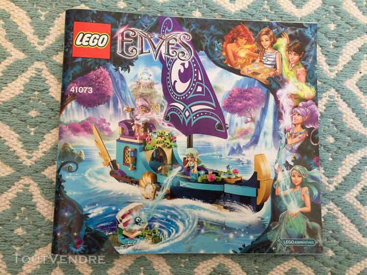 Lego elves 41073 le bateau magique de na- avec notice - tbe