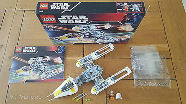 "Lego star wars 7658 ""y-wing"", 100% complet + boite, comme ne"