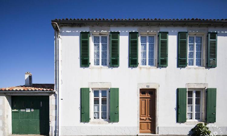 Location appartement dans maison traditionnelle de l'ile