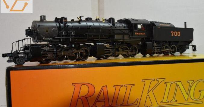 Locomotive à vapeur triplex impériale 2-8-8...
