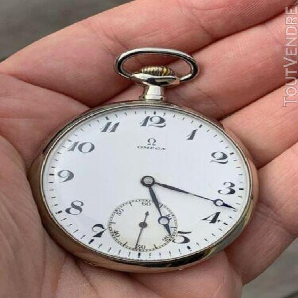 Omega pocket watch gousset vintage