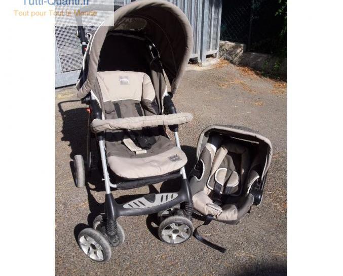 Poussette et siège auto cosy 0+ formula baby...