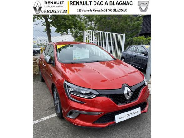 Renault mégane iv tce 205 edc gt