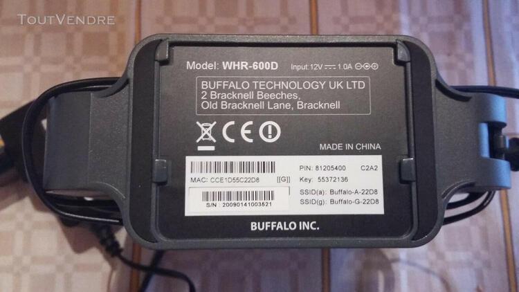 Routeur buffalo airstation whr-600d - routeur sans fil