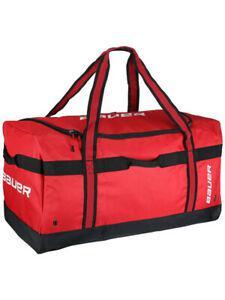 Sac bauer vapor team carry noir/rouge m hockey sur glace et