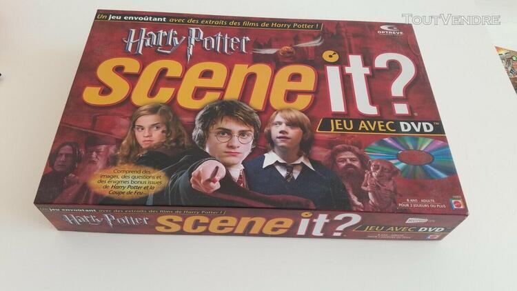 "Scene it ""harry potter"" - mattel, 2005 - etat exce"