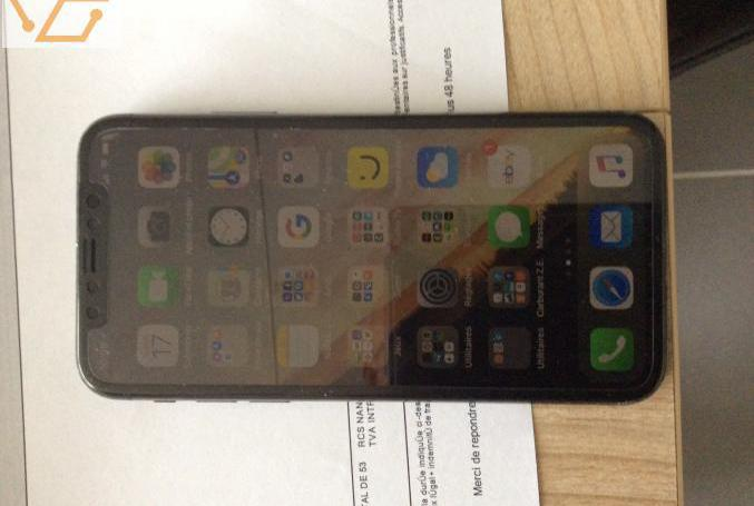 Smartphone apple iphone x - 64 go - gris sid�...