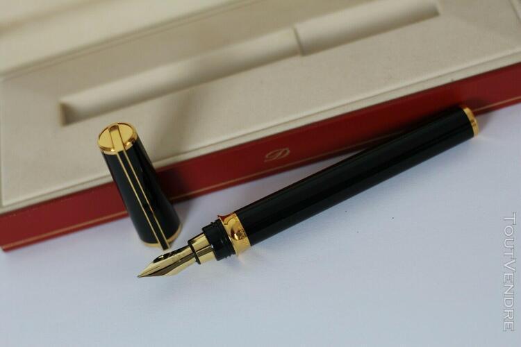Stylo plume s.t. dupont montparnasse vintage laque de chine