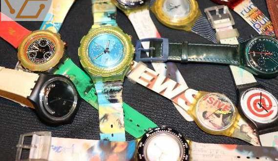 Superbe collection de montre swach impeccable...