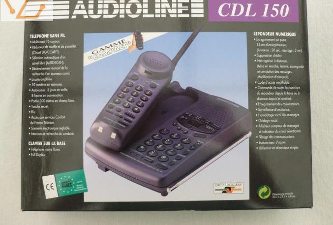 Téléphone répondeur (combiné hs)