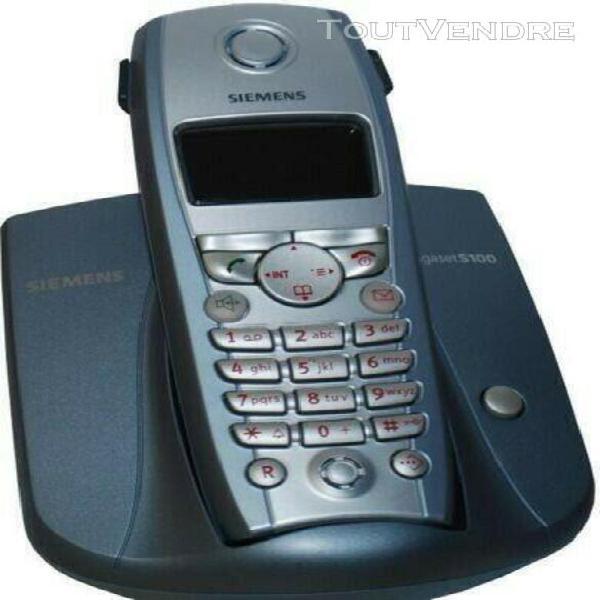 Téléphone siemens gigaset s100 professionnel dect/sans