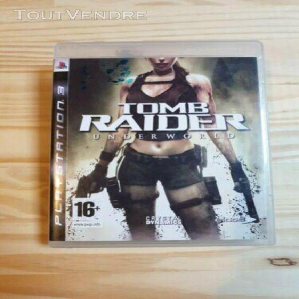 tomb raider underworld - ps3 playstation 3