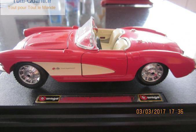 Voiture miniature chevrolet corvette 1/24 occ...