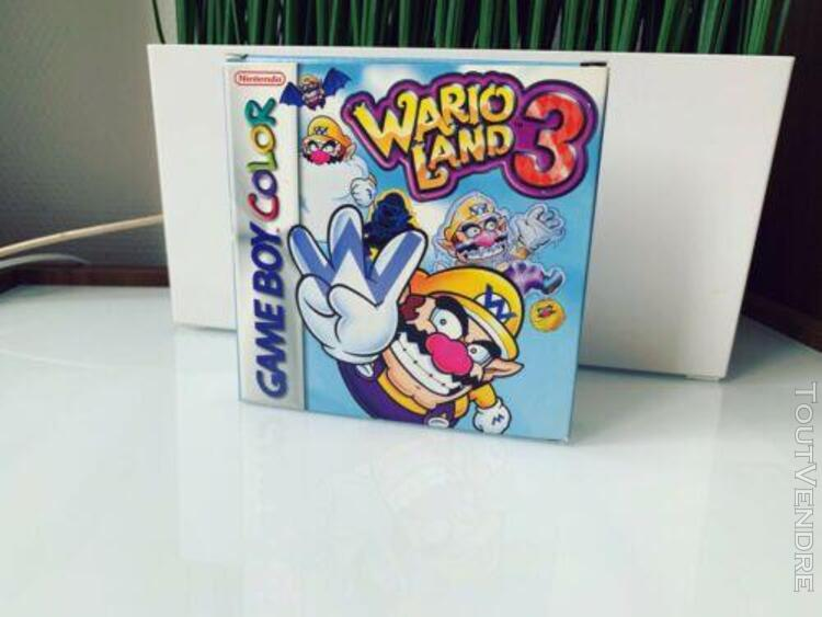 Wario land 3 nintendo game boy color mint ✨
