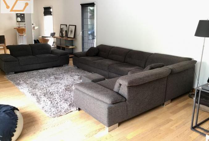 1 canapé d'angle et 1 canapé 2 places...