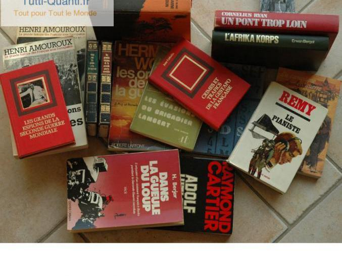 16 livres sur la seconde guerre mondiale1939-...