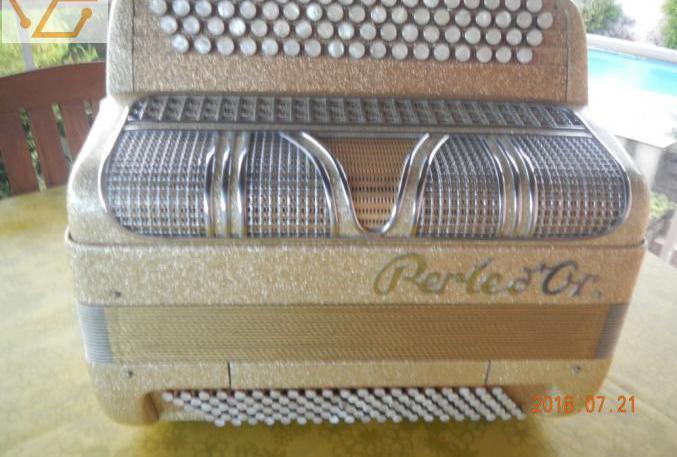 """accordeon chromatique """"perle d'or&q..."""