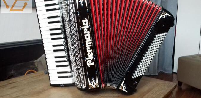 Accordéon chromatique touche piano piermaria