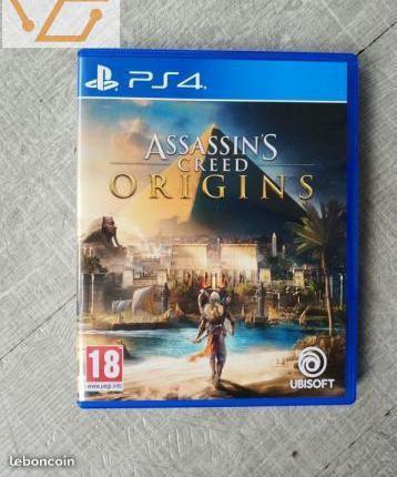 Assassin's creed origins ps4 jeu version...