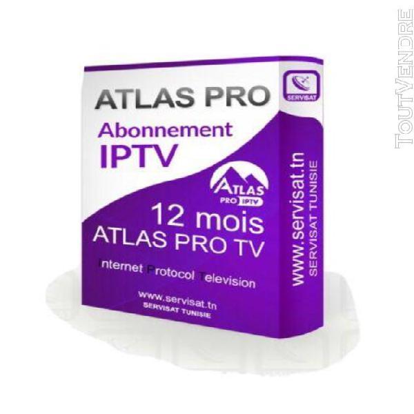 Atlas pro tv premium 12 mois android et ios smart tv série