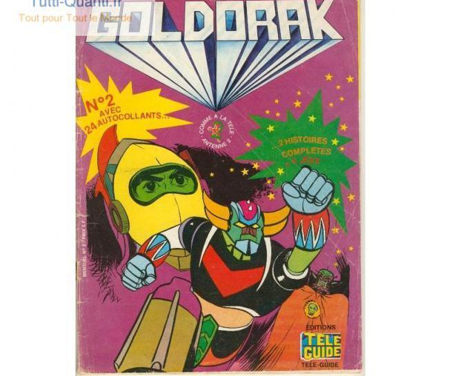 Bd goldorak n° 2 6 9