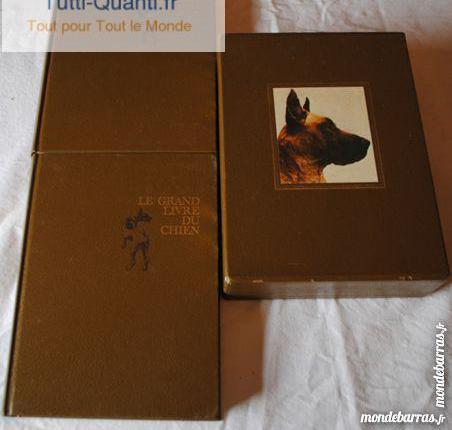 coffret 2 livres - le grand livre du chien