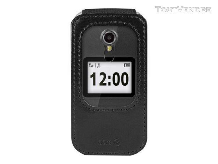 Doro - coque de protection pour téléphone portable - noir