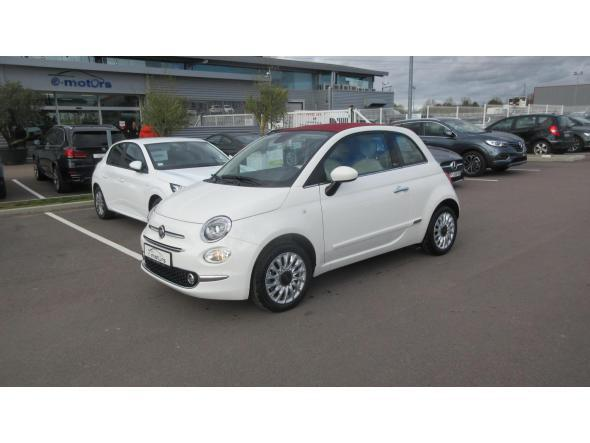 Fiat 500c my20 serie 7 euro 6d lounge 69 + capote rouge