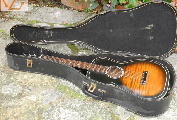 Guitare acoustique parlor silvertone