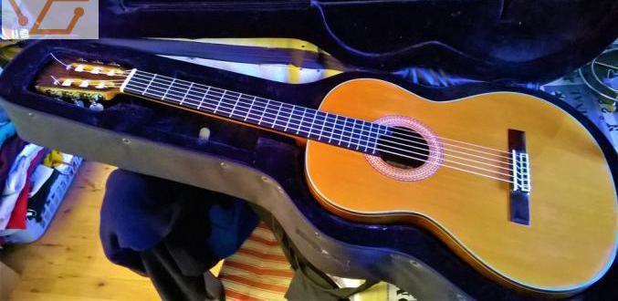 Guitare alhambra 11p (massive) - ébène &amp...