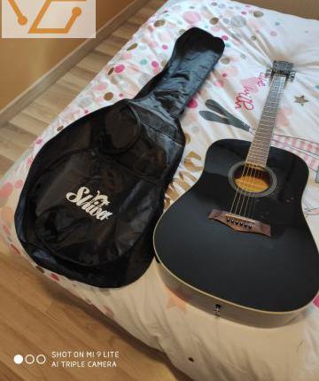 Guitare folk gfs-5 shiver - 4/4 - noir