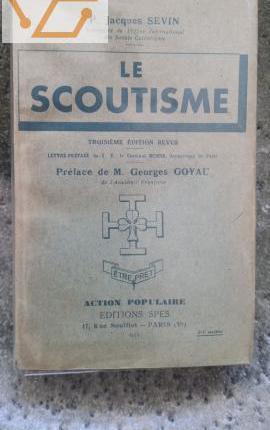 Jacques sevin - le scoutisme 1933