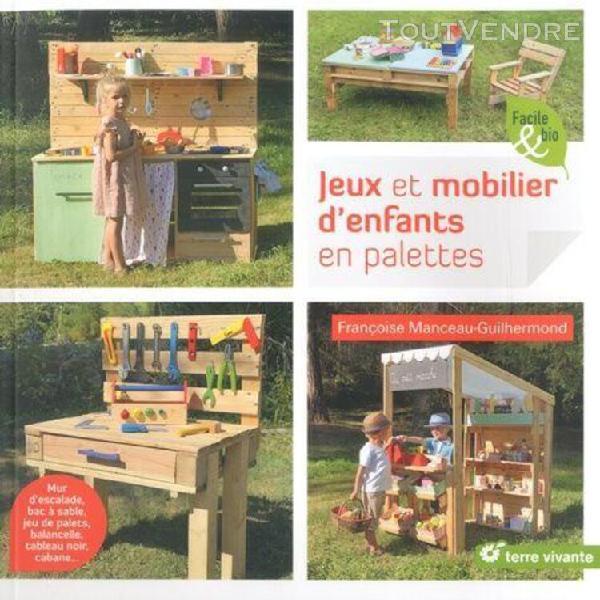 Jeux et mobilier d'enfants en palettes - mur d'escalade, bac