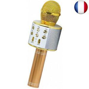 Keyian jouets pour enfants de 4-12 ans, microphone karaoke