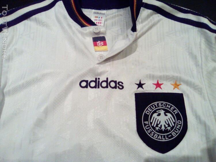 Maillot allemagne vintage adidas euro 96 football jersey de