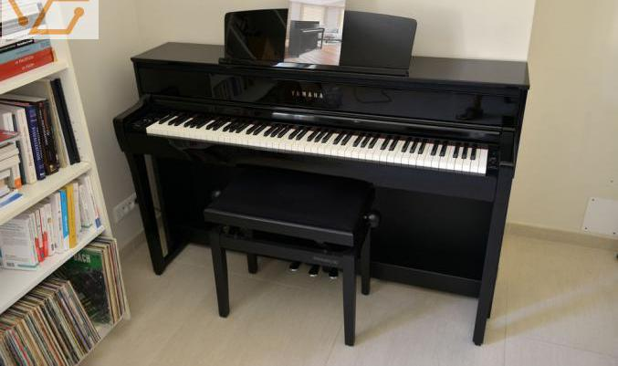 Piano éléctrique yamaha clavinova clp 675 p...