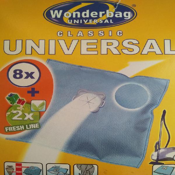 Sacs aspirateur wonderbag universal neuf,