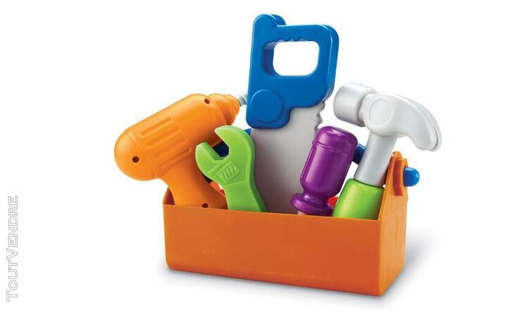 Sprouts fix it!, fine motor, pretend play toy tool set