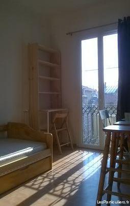 Studio musiciens dernier etage avec balconnet