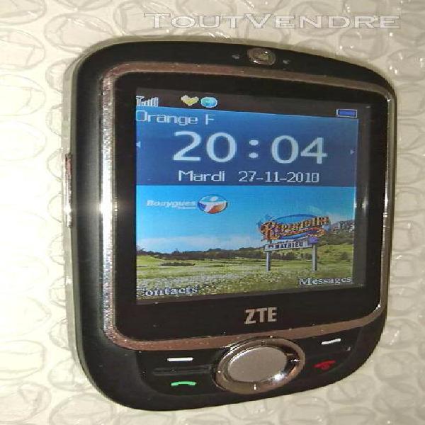 Téléphone smartphone portable mobile zte x760 boite