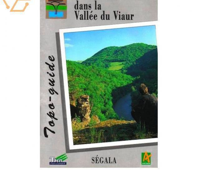 Topo guide - la vallée du viaur - tarn